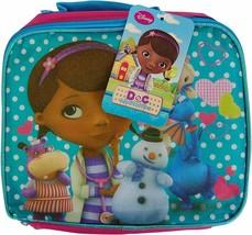 Buy Now ! Disney Junior - Doc Mcstuffins Fabric Lunch Box Free Postage ! - $10.88