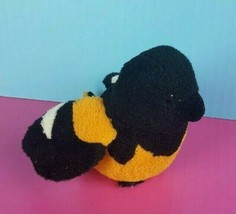 GANZ Webkinz Lil Kinz HS510 Oriole Plush Bird Orange Black Stuffed No Co... - $12.86