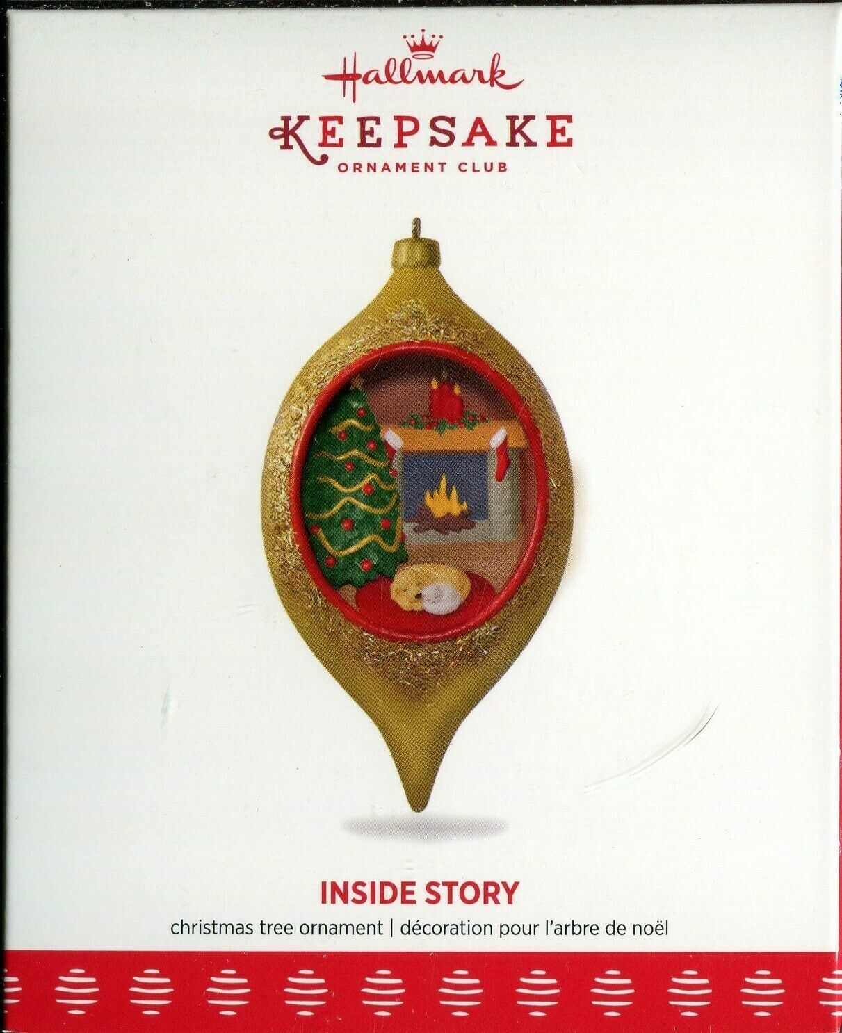 Primary image for 2017 New in Box - Hallmark Keepsake Christmas Ornament - Inside Story