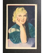 1936 Nestles Stars of the Silver Screen #32 MAE WEST - $14.80