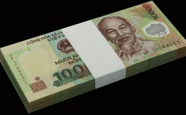 Vietnamese Dong 10000 UNC Polymer Vietnam Bank Note Fast Free Ship with ... - $2.47