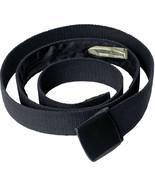 Money Web Belt Black Travel Wallet Hidden Zipper Pocket Security Discreet - $10.99