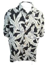 JOE MARLIN vintage 1990s Men Hawaiian ALOHA shirt pit to pit 27 camp lua... - $16.65