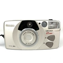 Canon Sure Shot 85 Zoom Date 35mm Film Camera Compact Point And Shoot Te... - $18.69