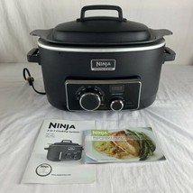 Ninja 3-in-1 Slow Cooking System Stovetop Oven 6 qt MC700 Excellent Tested! - $167.31
