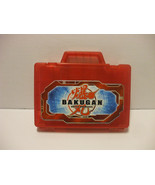 Red Bakugan Battle Brawlers  Plastic Carrying Case Holds 24 Bakugan Balls - $6.67
