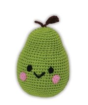 Mirage Pet Products 500-003 Knit Knacks Bartlett Pear Organic Cotton Dog Toy, Sm - $14.99