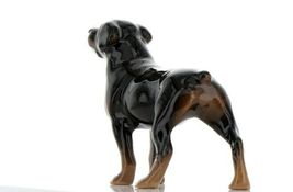 Hagen Renaker Dog Rottweiler Ceramic Figurine image 5