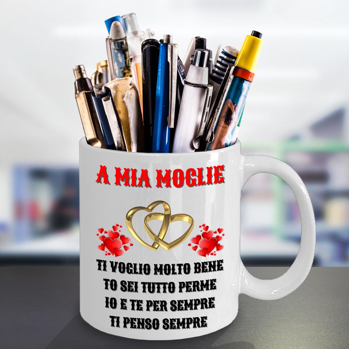 Gift For Italian Wife Birthday On Wedding Day Anniversary Surprise Her Women Mug