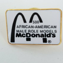 Mcdonald's African-American Male Role Models Lapel Pin - $19.39