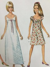 Simplicity Sewing Pattern 8126 Misses Vintage Dress Three Lengths Size 14-22 UC - $14.77