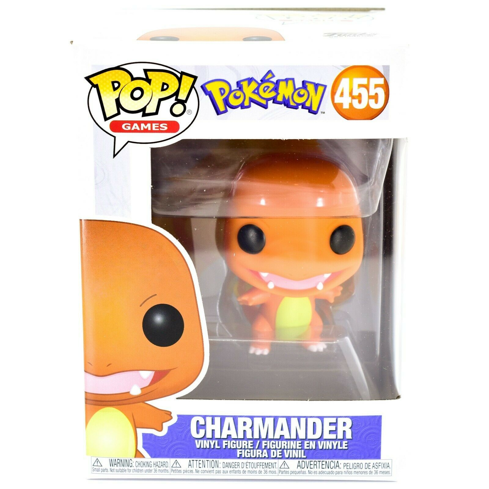 Funko Pop! Games Pokemon Charmander #455 Vinyl Action Figure