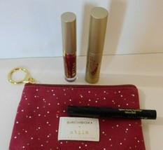 Stila Birchbox Trio Eyeliner~Mascara~Rubino Lipstick  BRAND NEW - $22.99