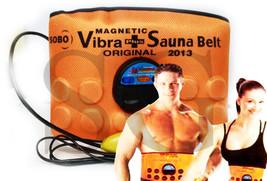 3 in 1 Sauna belt Massager Slimming Vibrating,acupressure Vibration Fat ... - $21.49
