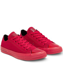 Womens Converse X OPI CTAS Ox Canvas 165730C Red/Black Multi Sizes NWB Unisex - $45.98
