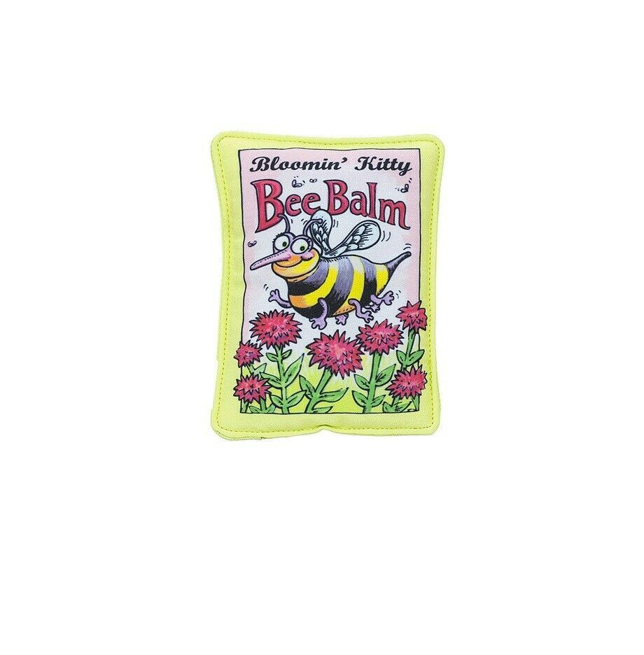 FUZZU Bee Balm Seed Packet for Cat Toy