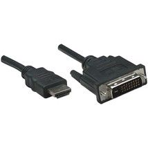 Manhattan 372503 HDMI to DVI-D Cable, 6ft - $23.81