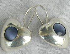 Gray  blue hearts