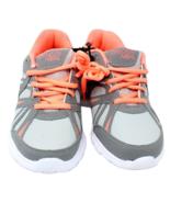 Danskin Now Girls Athletic Lightweight Running Shoe Sz 3 Gray/Coral - $18.80