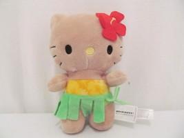 "Hello Kitty Plush - Hawaiian Luau Grass Skirt Flowers - 7"" - $12.00"