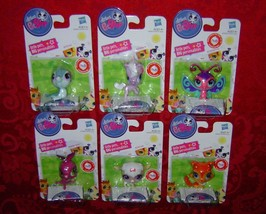 Littlest Pet Shop singles lot Seal Horse Butterfly Kangaroo Lamb Collie Hasbro  image 2