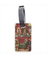 Queen Of Hearts Alice In Wonderland Art Personalized Luggage Tag - $14.39