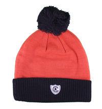 Crooks & Castles Collegiate Orange Black Pom Beanie Winter Hat I1270801 NWT image 4
