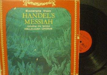 Excerpts from Handel's Messiah - Premier Albums XM 1