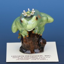 Birthstone Tree Frog Prince November Citrine Miniatures by Hagen-Renaker