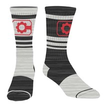 Cyborg Flipped Colors Men's Crew Socks Gray - $12.98