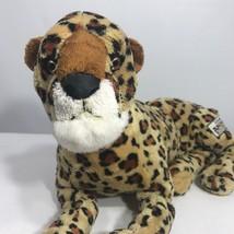 Disney Leopard Cheetah Large Plush Animal Kingdom Stuffed Animal Super Soft - $17.19