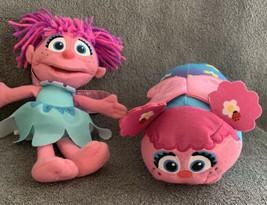 "Abby Cadabby Plush Fairy Doll 8"" Mattel & Sesame Street Abby Tsum Tsum 6"" - $14.99"