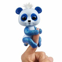WowWee Fingerlings Glitter Panda -  Archie Blue - Interactive Collectibl... - $11.36