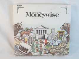 Moneywise 1988 Board Game Irwin Toy 100% Complete New Open Box RARE - $28.58