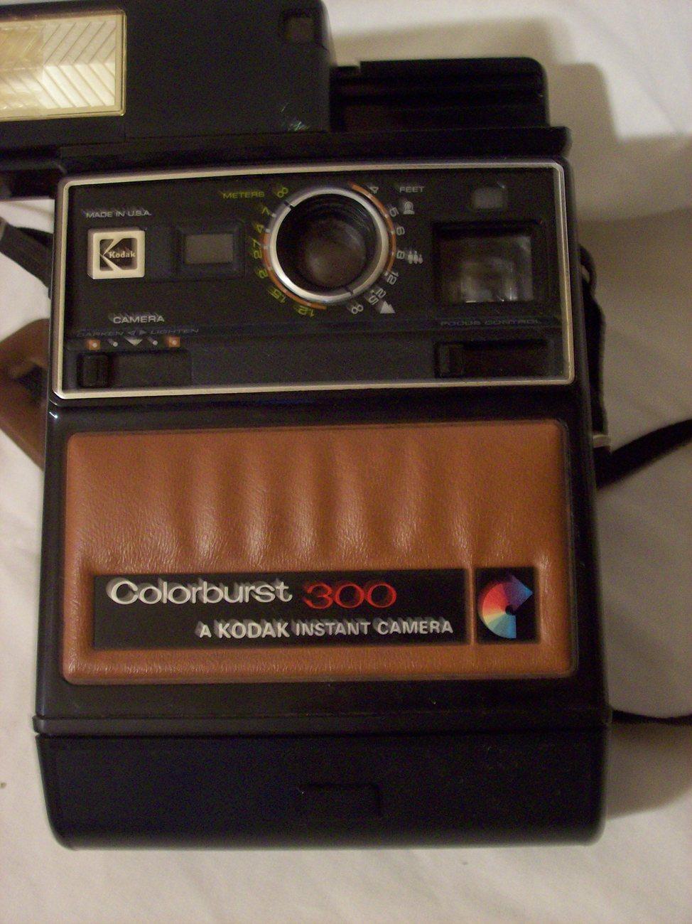 Vintage Kodak Colorburst 300 Instant Camera