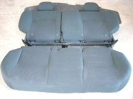 2015 NISSAN VERSA NOTE HATCHBACK REAR SEAT ASSEMBLY OEM