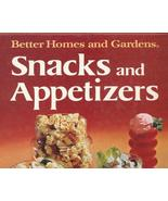Better Homes and Gardens Snacks and Appetizers ... - $9.99