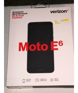 Motorola Moto E6 - 16GB - (Verizon)      *** BRAND NEW IN SEALED BOX *** - $49.99
