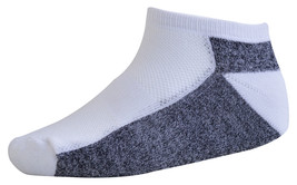 Pack of 3 : OCTAVE Mens Cotton Rich Trainer Socks - Size UK 7-11 - White... - $3.99