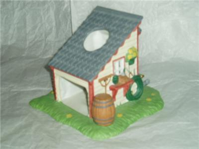 PartyLite Garden Shed Cottage Tealight Party Lite
