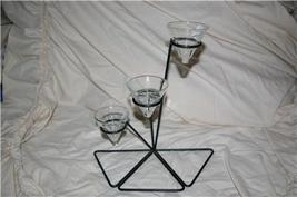 PartyLite Intrigue Tealight Holder Clear Cup Party Lite - $10.00