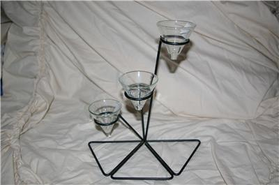PartyLite Intrigue Tealight Holder Clear Cup Party Lite