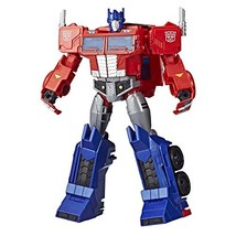 Transformers Toys Optimus Prime Cyberverse Ultimate Class Action Figure ... - $53.45