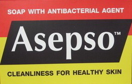 ASEPSO Body Wash Soap Skin Health Antibacterial 80g