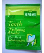 Supaporn Tooth Powder Polishing Plus Herb Healthy teethSupap - $3.90
