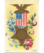 Veteran of The Grand Army of The Republic Vintage Post Card  - $8.00