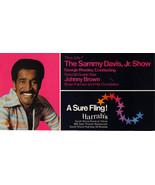 SAMMY DAVIS JR / BOBBIE GENRY / TRINI LOPEZ HARRAHS Postcard - $3.95