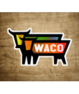 "Waco Texas Decal Sticker 3.75"" X 2.25"" Cattle Cow Rancher Vintage Longhorn - $5.24"