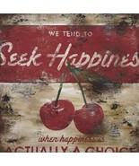 Seek Happiness Rodney White Paper Print  - $21.00