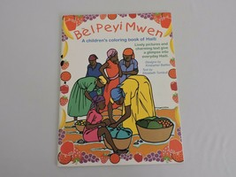 Coloring Book of Haiti Bel Peyi Mwen Uncolored Geography Homeschooling C... - $11.46